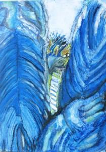 Blauer-Vogel